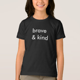 Svart T-tröja för indiankrigare & för snälla ungar Tee Shirt