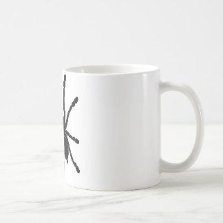 Svart tarantel kaffemugg