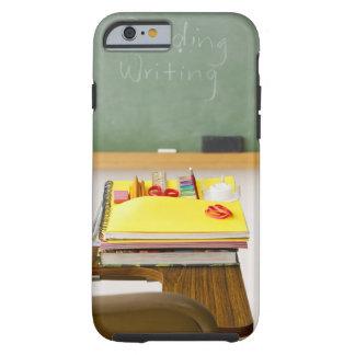 Svart tavla i klassrum tough iPhone 6 fodral