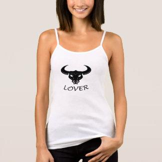 Svart tjurälskare t-shirt