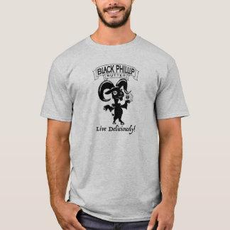 Svart tshirt för Phillip smörget Tshirts
