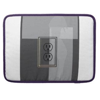 Svart vägghålighetsleeve! sleeves för MacBooks