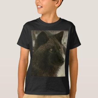 Svart varg t-shirt