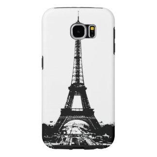 Svart- & vitEiffel torn Galaxy S5 Fodral