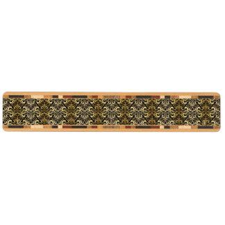 svärta fauxguld, vintage, antikviteten, damaster, nyckelhängare