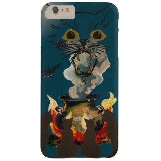 Svarta katter som trollar andar på Halloween Barely There iPhone 6 Plus Skal