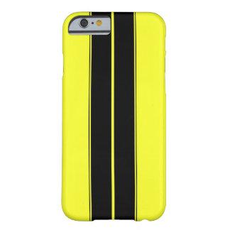 Svärta och gulna det tävlings- randIphone 6/6s Barely There iPhone 6 Skal
