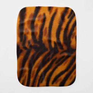 Svärta randig tigerpäls eller flå strukturmallen bebistrasa
