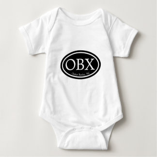 Svärtar den yttre banker för OBX Oval Tshirts