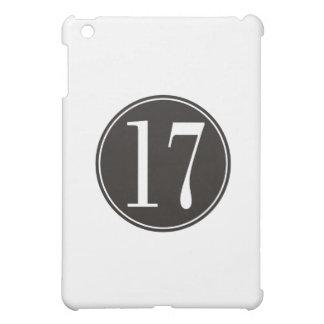 Svarten #17 cirklar (bekläda), iPad mini mobil fodral