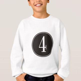 Svarten #4 cirklar tee shirt