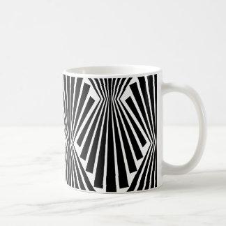 Svarten fläktar det beställnings- mönster för kaffemugg