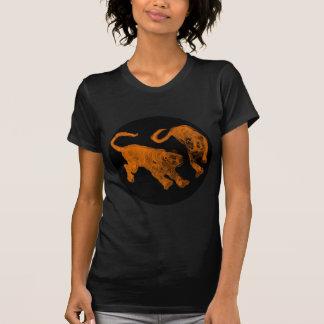 Svarten för tigrar för spöke för Xian china 2002 Tee Shirts