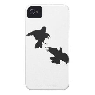 Svarten gal Fodral-Kompisen för iPhone 4 knappt iPhone 4 Case-Mate Case