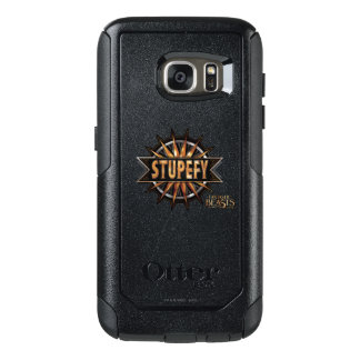 Svarten & guld Stupefy grafiskt pass OtterBox Samsung Galaxy S7 Skal