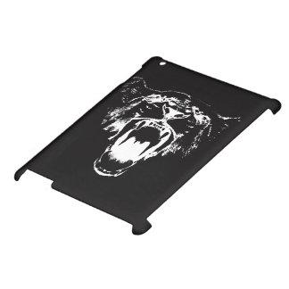 Svarten & vit hör mitt för att vråla! - iPadfodral iPad Mobil Skydd