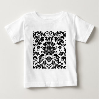 Svartvit damast tee shirts