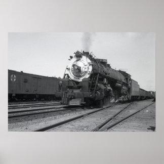 Svartvit fotoaffisch för SP 4475 Print
