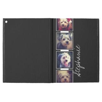 """Svartvit fotoCollage kvadrerar med namn iPad Pro 12.9"""" Skal"""