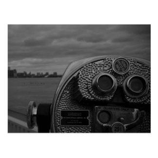 svartvit fotografi vykort