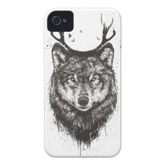 (Svartvit) hjortvarg, iPhone 4 Cases