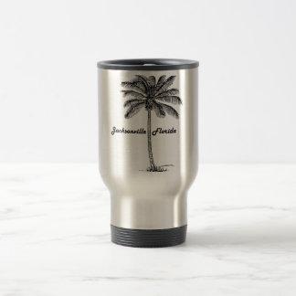 Svartvit Jacksonville & handflatandesign Resemugg