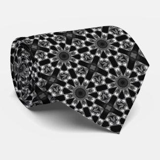 Svartvit Kaleidoscope Slips