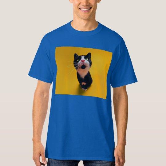 Svartvit katt-smoking katt-husdjur tröjor