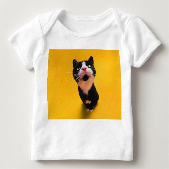 Svartvit katt-smoking katt-husdjur tshirts