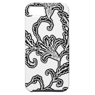 Svartvit krusidull iPhone 5 Case-Mate cases