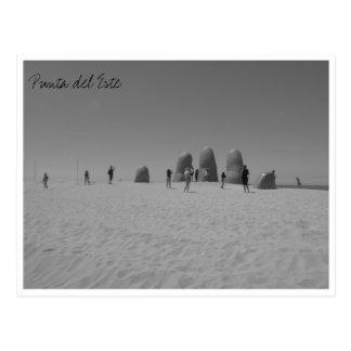 svartvit lamano vykort