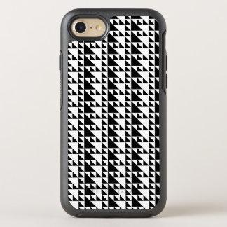 Svartvit minimalist konst för trianglar OtterBox symmetry iPhone 7 skal