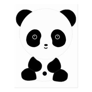 Svartvit Pandabjörn Vykort