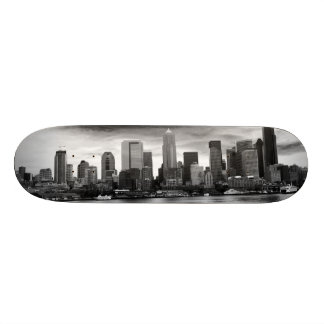 Svartvit Seattle Skateboard