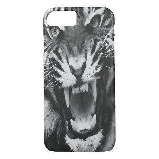Svartvit tiger