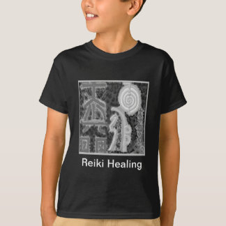 Svartvit version - Reiki n Karuna T Shirt