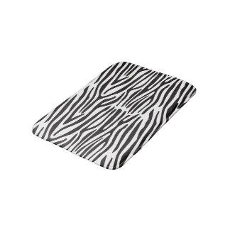 Svartvit zebra tryckbadmatta badrumsmatta