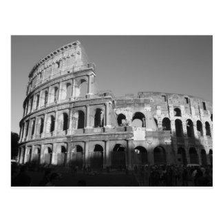 Svartvita Colossium Vykort