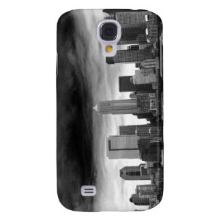 Svartvita seattle galaxy s4 fodral