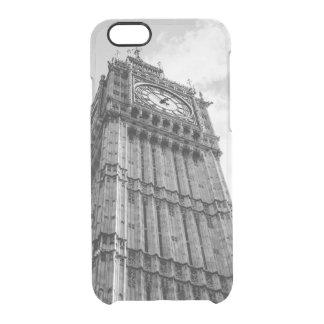 Svartvita stora Ben fotograferar, London Clear iPhone 6/6S Skal
