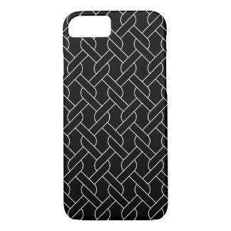 svartvitt geometriskt mönster