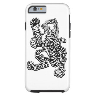 Svartvitt Mojo tigerfodral Tough iPhone 6 Fodral