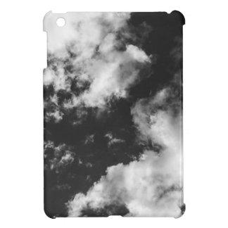 Svartvitt molnigt väder iPad mini skydd