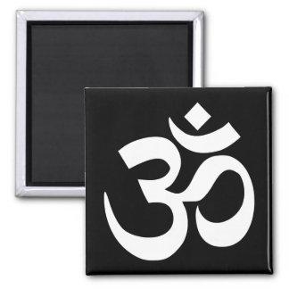 Svartvitt Om-symbol