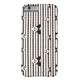 Svartvitt Po-mönster Barely There iPhone 6 Skal