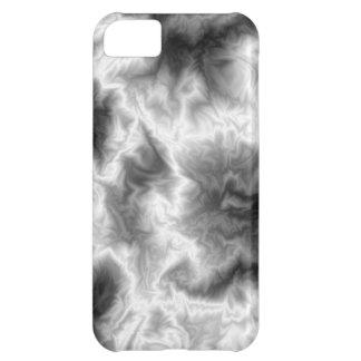 Svartvitt röka iPhone 5C fodral