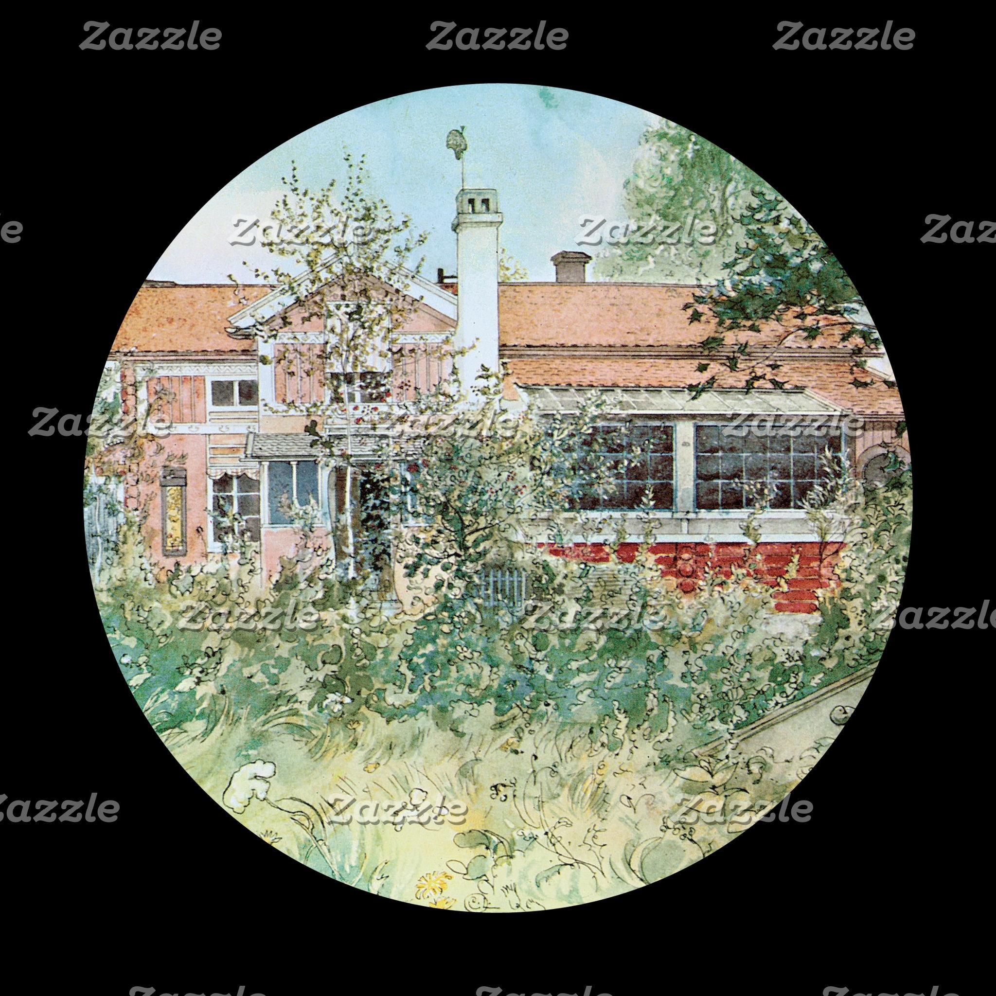 Carl Larsson Church and Home
