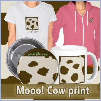 Mooo! Cow Print