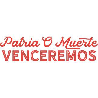 Patria O Muerte Cuba Quote