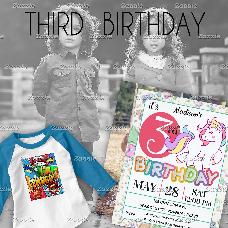 - 3rd Birthday (3-year-old)